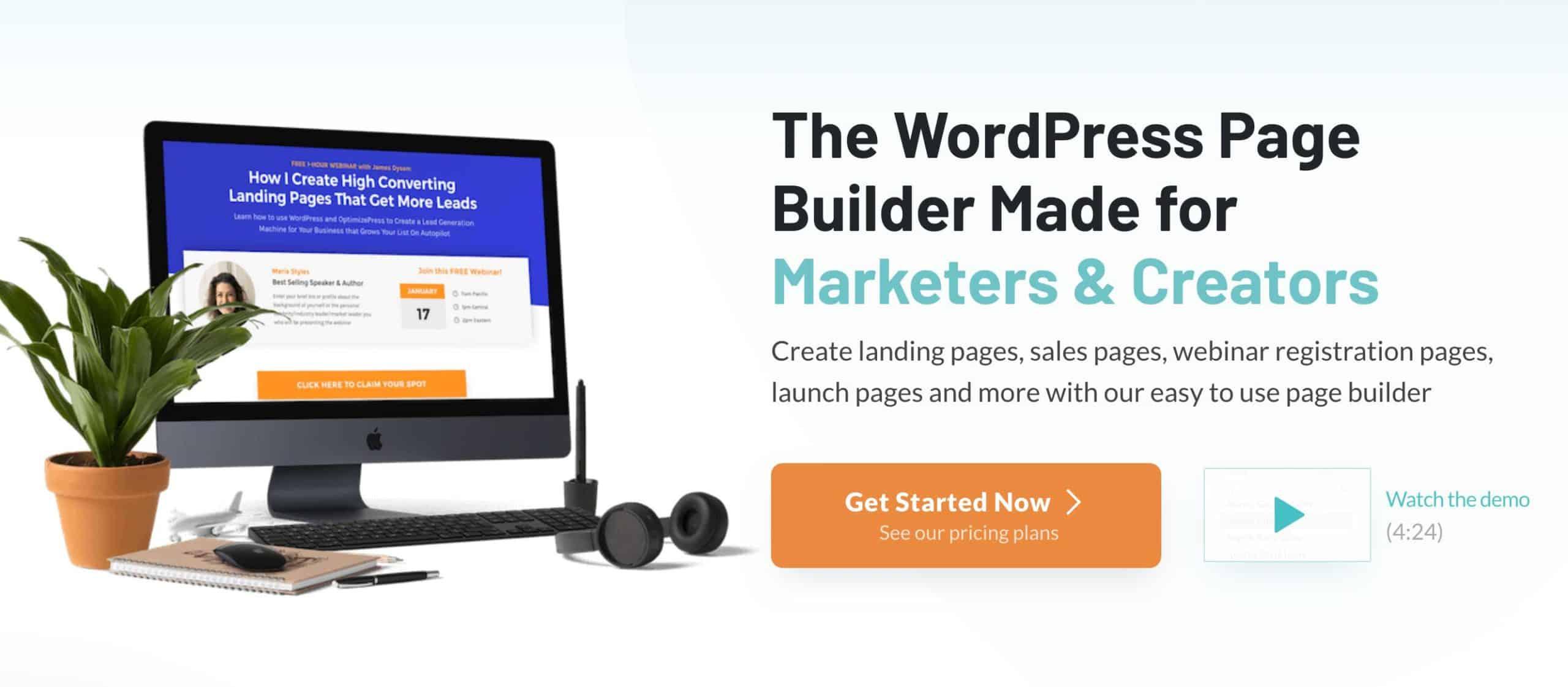 Optimizepress-homepage