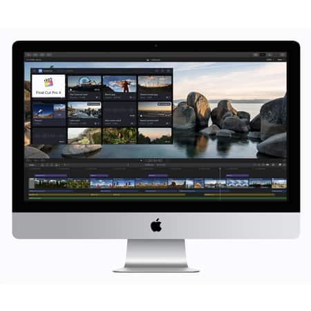 Final Cut Pro X on iMac 27 inch