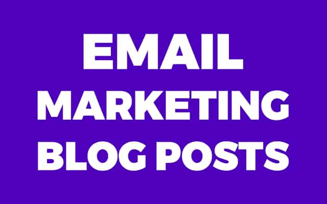 Email Marketing Blog Posts Background