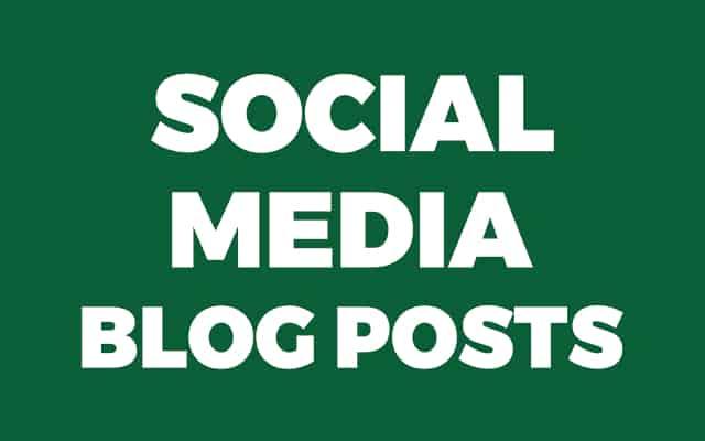 Social Media Blog Post Background